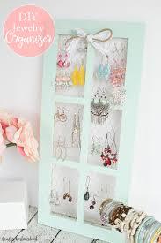 diy jewelry holder marvelous diy jewelry holder with en wire window frame