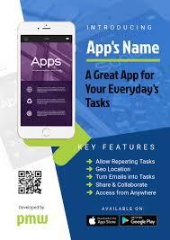 Design Flyer App Mobile App Flyer Template Postermywall
