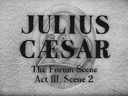 Julius Caesar   Act II and III Vocabulary