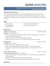 Best Hvac Installer Technician Resumes Resumehelp