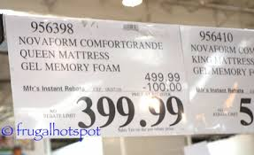 novaform 14 gel memory foam mattress. novaform comfortgrande 14\ 14 gel memory foam mattress e