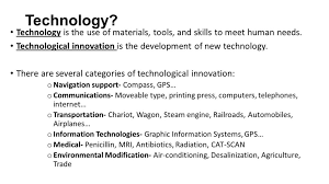 Technological Innovationstechnology Technology Is The Use Of Inside Materials  Innovation Technologies