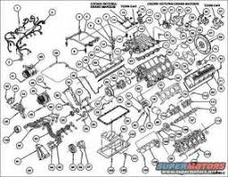 similiar 2001 ford 4 6 cylinder diagram keywords engine exploded complete jpg exploded 4 6l 2v complete1 bolt n806155