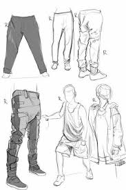 Pants Drawing Reference Pin By Nick Fernandez On Clothing Fundamentals In 2018 Pinterest