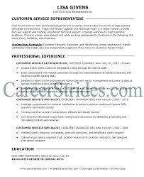 Objective On Resume Stunning Customer Service Objective For Resume Simple Resume Format