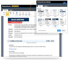 Meeting Minutes Software