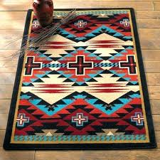 southwestern style area rugs rustic cross blue southwestern southwest style area rugs home depot large h