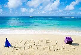 Amazon Com Ofila Tropical Beach Backdrop For Birthday