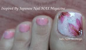 Nail MAX Magazine Inspired Toes Art Design Lovery Pink on Pink ...