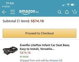 evenflo litemax infant car seat w