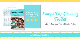 Europe Trip Planning Toolkit