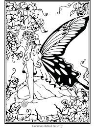 Coloring Pages Fairy Coloring Pages Pinterest Tony T1 On Flowers