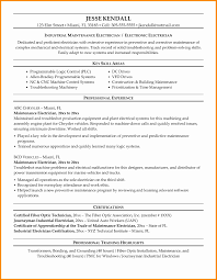 Electrical Maintenance Engineer Resume Samples Best Of Resume Color