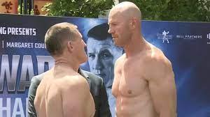 Paul Gallen vs Barry Hall weigh-in ...