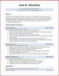 Customer Service Resume Template Free Awesome 40 Customer Service Resume Templates Free Word Excel PDF