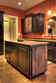 Custom black kitchen cabinets High End Italian Kitchen Custom Barnwood Accented And Black Distressed Kitchen Cabinets Pinterest Custom Barnwood Accented And Black Distressed Kitchen Cabinets