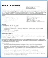Ambulatory Care Pharmacist Sample Resume Stunning Pharmacists Resume Pharmacist Sample Template Medical Professional