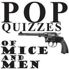 of mice and men essay topics  amp  grading rubrics   essay topics  of    of mice and men  pop quizzes bundle   language   subjects