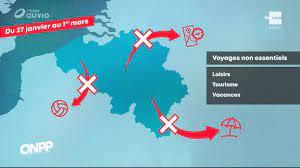 Pour les Belges, les voyages