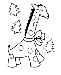 Easy Toddler Christmas Coloring Pages 5507 Toddler Christmas