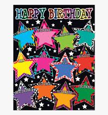 Tcr7754 Fancy Stars Happy Birthday Chart Image Birthday