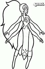 New Steven Universe Coloring Pages Opal Get Coloring Page