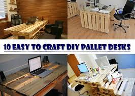 pallet office. DIY-Pallet-Desks Pallet Office