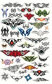 Tetování Pro Kluky Ornamenty Stavebnice Hrycz