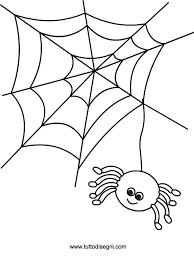 Ragno Di Halloween Da Colorare Tuttodisegnicom