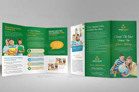 tri fold school brochure template education school trifold brochure template by janysultana graphicriver