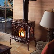 Direct Vent Free-Standing Fireplaces and Stoves | Fine's Gas