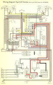 1966 bus wiring diagram usa thegoldenbug com