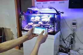 ecotech led aquarium lighting for freshwater guide light blue