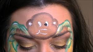 1920x1080 monkey face painting tutorial monkey face painting