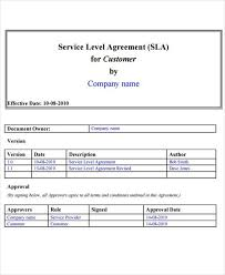 help desk service level agreement template service level agreement template the free website templates