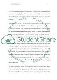 Divorce Essays Divorce Essay Example Topics And Well Written Essays