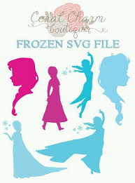 Pin by Wilda Smith on Cricut | Frozen silhouette, Silhouette projects,  Silhouette cameo projects