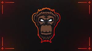 Youtube Logo Design Free Cool Youtube Monkey Logo Free Monkey Mascot Logo Design