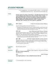 Resume Samples For College Graduates Resume Letter Directory