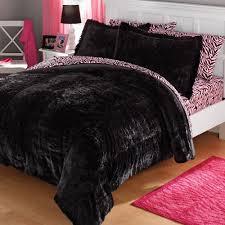 Teen faux fur comforter