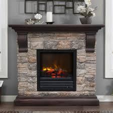8 astounding faux stone electric fireplace snapshot idea