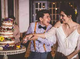 After the feeding, the remainder of the cake is cut to serve guests. 15 Wedding Cake Cutting Songs That Aren T Overplayed Weddingwire