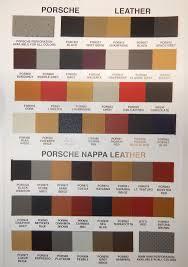Porsche 993 Color Chart Www Bedowntowndaytona Com
