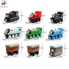 Xe lửa đồ chơi bằng gỗ có nam châm dành cho bé chính hãng