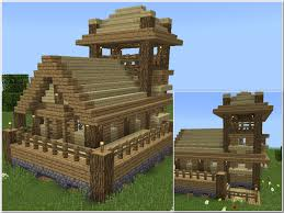 Sweet Minecraft House Designs Simple Survival Wood And Cobblestone House Cool Minecraft