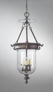three light oil rubbed bronze clear glass foyer hall pendant mh74 magnolia lighting