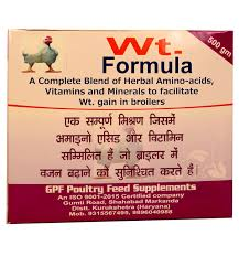 Poultry Weight Formula