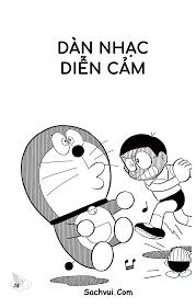 Truyện tranh Doremon - Tập 14 - Chương 4: Dàn nhạc diễn cảm