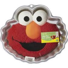Sesame Street Elmo Cake Pan Wilton