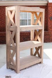 making rustic wood furniture. diy bookshelf with simpson strongtie making rustic wood furniture r